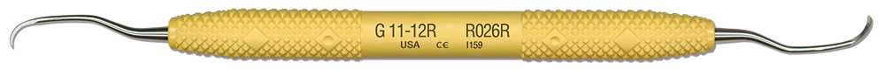 R026R Gracey 11-12 Rigid