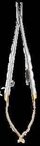 T710 TC Needle Holder Castroviejo straight 14