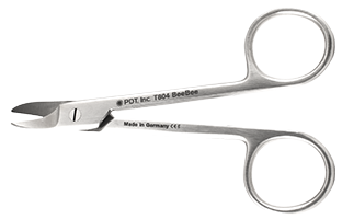 T804 BEEBEE Crown Scissors curved